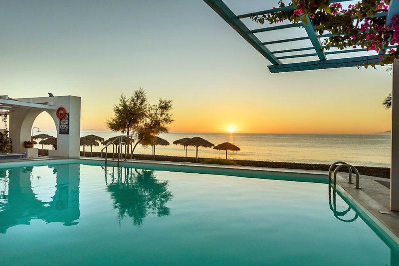 Sigalas Hotel in Kamari, Santorin