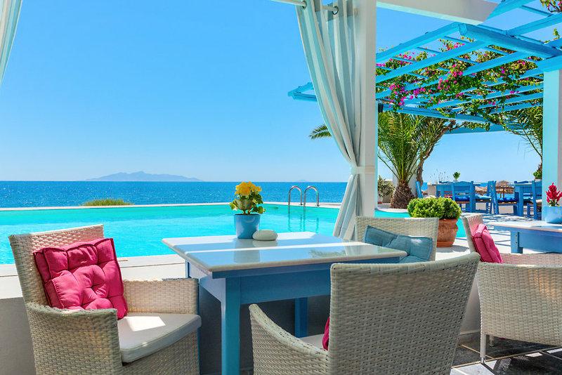 Sigalas Hotel in Kamari, Santorin TE