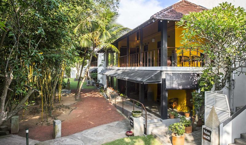 Royal Palms Beach Hotel in Kalutara, Sri Lanka