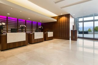 Hotel Coast Coal Harbour Vancouver Hotel by APA Lounge/Empfang