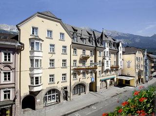 Hotel Grauer Bär Innsbruck Außenaufnahme