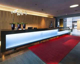 Hotel First Hotel Grims Grenka Lounge/Empfang