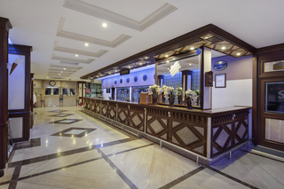 Hotel Saphir Hotel & Villas Lounge/Empfang