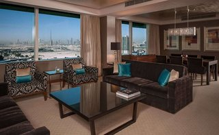 Hotel Crowne Plaza Dubai Festival City Lounge/Empfang