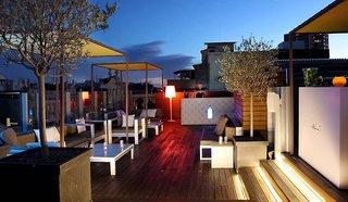 Hotel Axel Hotel Barcelona & Urban Spa - Erwachsenenhotel Terasse