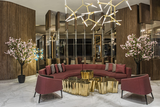 Hotel Delphin BE Grand Resort Lounge/Empfang