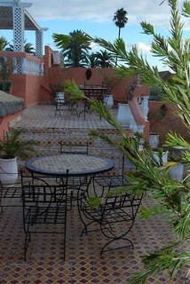 Hotel Riad Les Oliviers Terasse