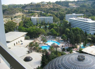 Hotel Rodos Palace Luxury Convention Resort Luftaufnahme