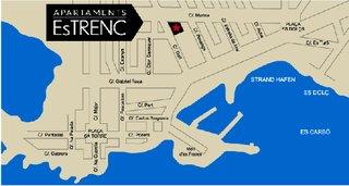 Hotel Es Trenc Apartments Landkarte