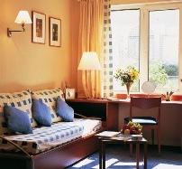Hotel Adagio Paris Buttes Chaumont Wohnbeispiel