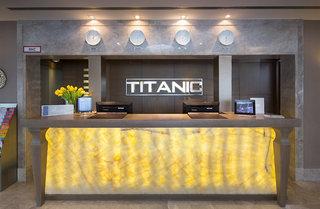 Hotel Titanic Comfort Berlin Mitte Lounge/Empfang