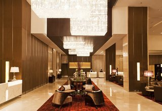 Hotel Eastin Grand Sathorn Lounge/Empfang
