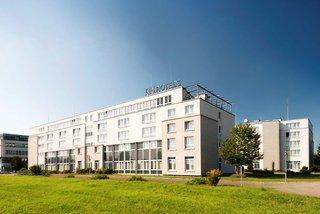Hotel NH Leipzig Messe Außenaufnahme