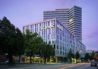 Hotel Scandic Hamburg Emporio Außenaufnahme