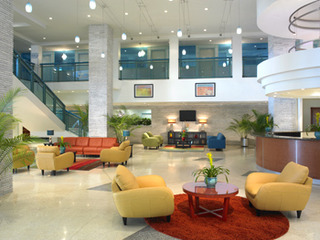 Hotel Best Western Plus Atlantic Beach Resort Lounge/Empfang