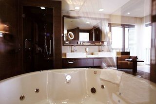 Hotel St.Martins Therme & Lodge Badezimmer