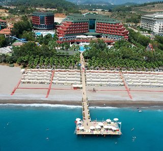 Hotel Delphin Deluxe Luftaufnahme