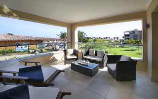 Hotel Pickalbatros Amwaj Blue Beach Resort & Spa Terasse