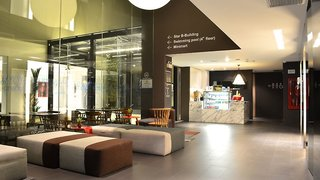 Hotel A-One Star Hotel Lounge/Empfang