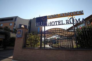 Hotel Best Western Blu Roma Außenaufnahme