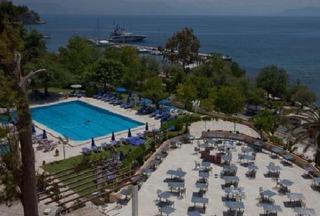 Hotel Corfu Palace Luftaufnahme