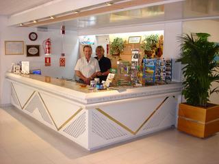 Hotel Gran Sol Lounge/Empfang
