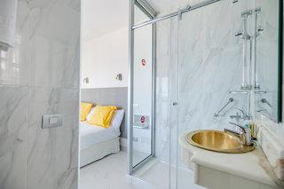 Hotel Europalace Badezimmer