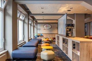 Hotel a&o Hamburg City Lounge/Empfang
