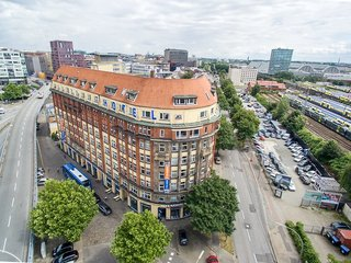 Hotel a&o Hamburg Hauptbahnhof Außenaufnahme