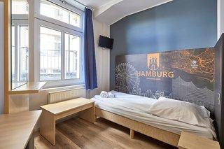 Hotel a&o Hamburg Hauptbahnhof Wohnbeispiel