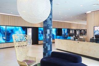 Hotel Scandic Hamburg Emporio Lounge/Empfang