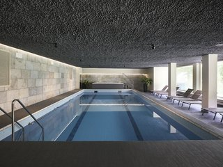 Hotel Bonfanti Design Hotel Hallenbad