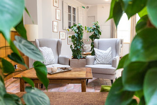 Hotel Försterhof Lounge/Empfang