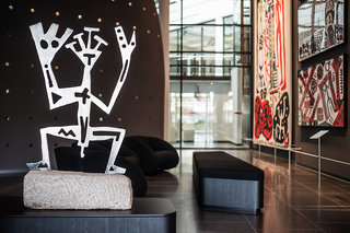 Hotel Penck Hotel Dresden Lounge/Empfang