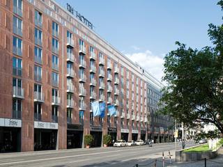 Hotel NH Collection Berlin Mitte am Checkpoint Charlie Außenaufnahme
