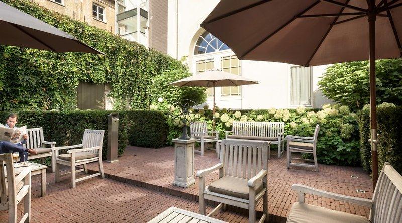 The Peellaert - Erwachsenenhotel  Terrasse