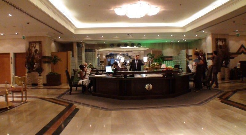 Abjar Grand Hotel Lounge/Empfang