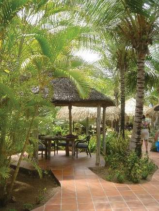 Galley Bay Resort & Spa Terrasse