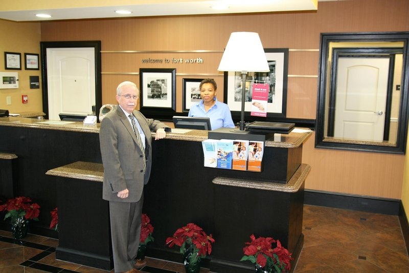 Hampton Inn & Suites Fort Worth-Fossil Creek Lounge/Empfang