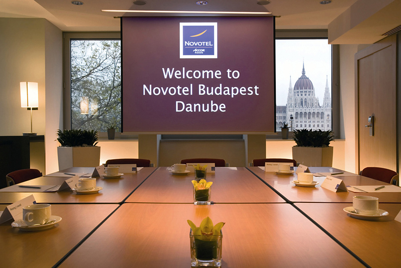 Novotel Budapest Danube Konferenzraum