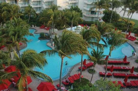 Aruba Marriott Resort & Stellaris Casino Pool