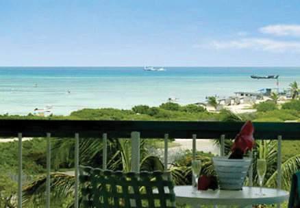 Aruba Marriott Resort & Stellaris Casino Terrasse