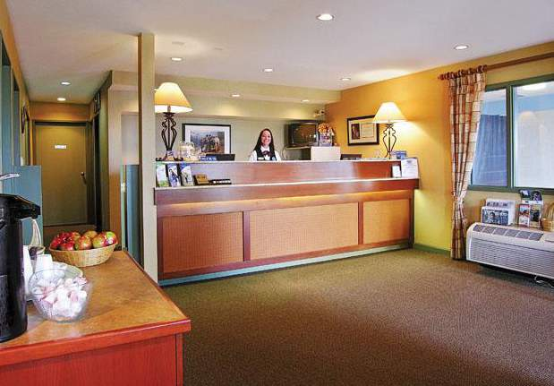 Accent Inn Kamloops Lounge/Empfang