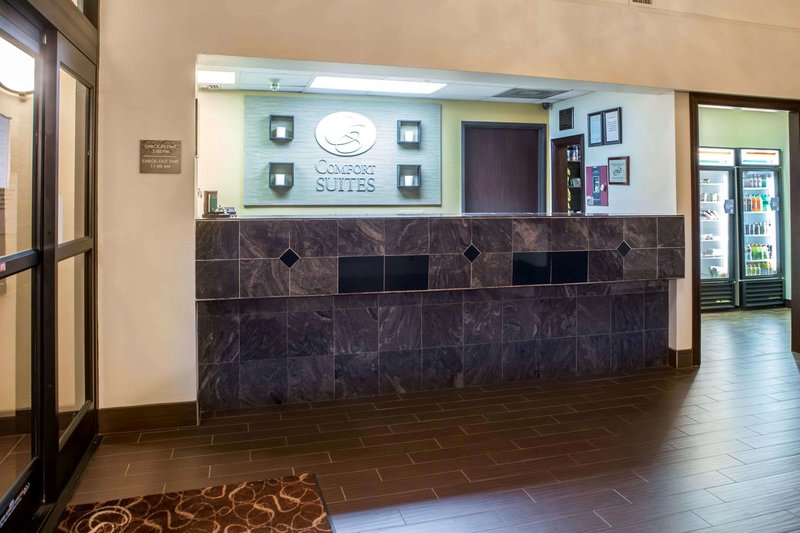 Comfort Suites Near the Galleria Lounge/Empfang