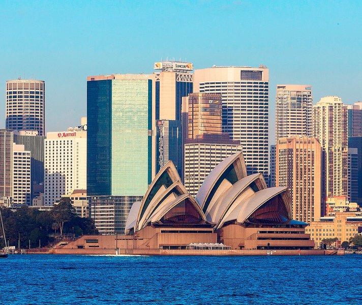 Sydney Harbour Marriott Hotel at Circular Quay Außenaufnahme