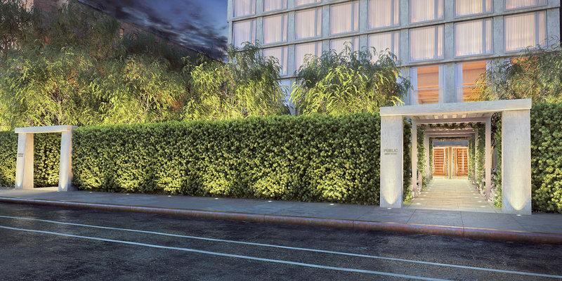 Public New York, an Ian Schrager Hotel Außenaufnahme