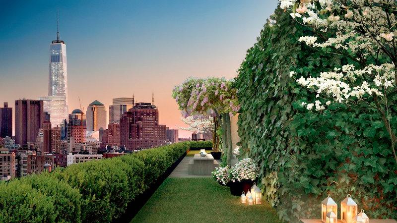 Public New York, an Ian Schrager Hotel Garten