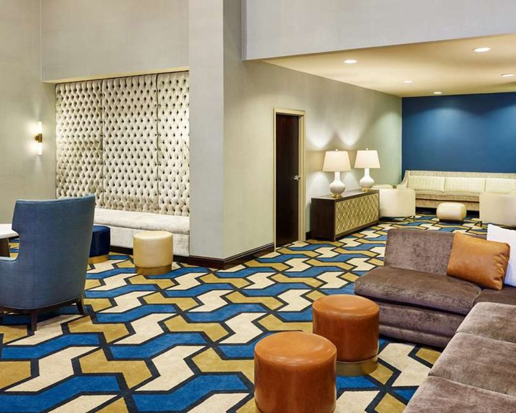 Sheraton Fort Worth Downtown Hotel Lounge/Empfang