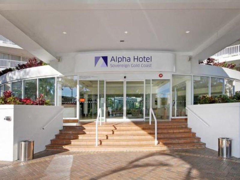 Alpha Sovereign Lounge/Empfang