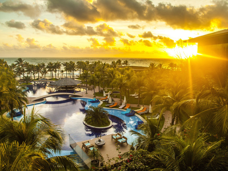 Carmel Cumbuco Resort Garten